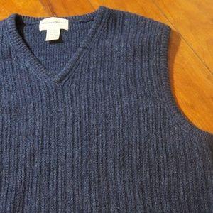 Other - Mens Eddie Bauer Wool Vest Size M